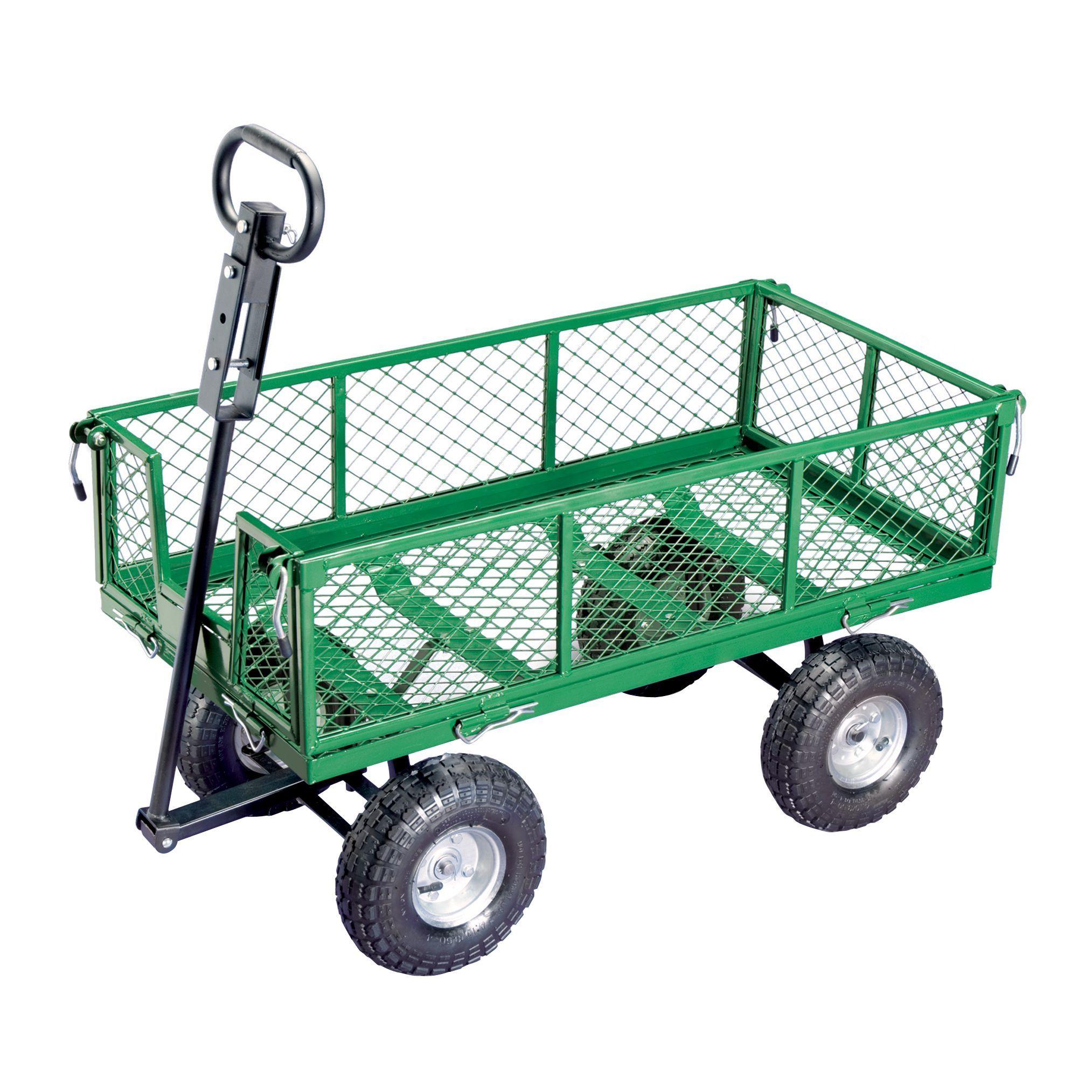 Gorilla 2-in-1 Utility Cart - Lawn & Garden - Outdoor Tools & Supplies - Wheelbarrows & Garden Carts
