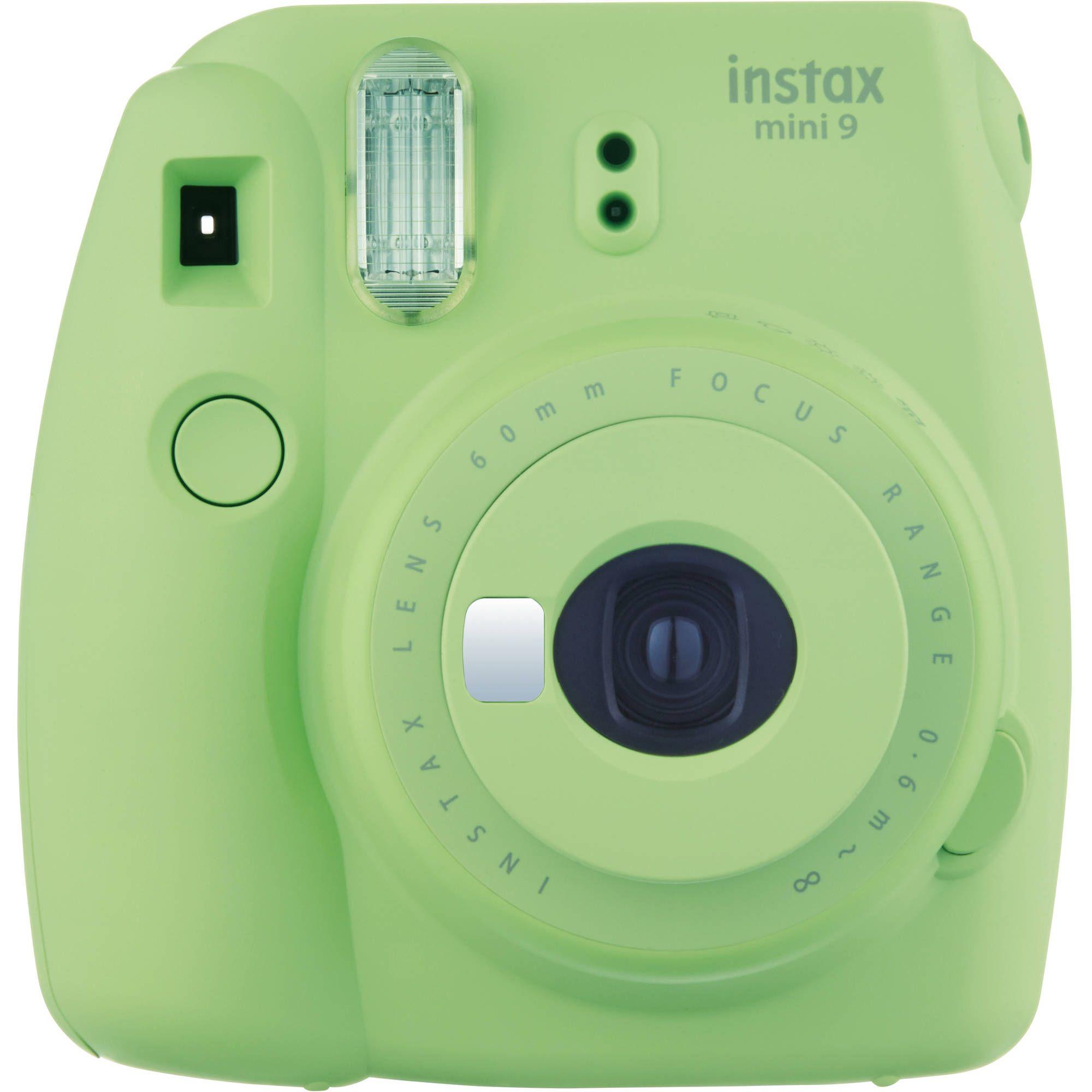 FUJIFILM INSTAX Mini 9 Instant Film Camera (Lime Green