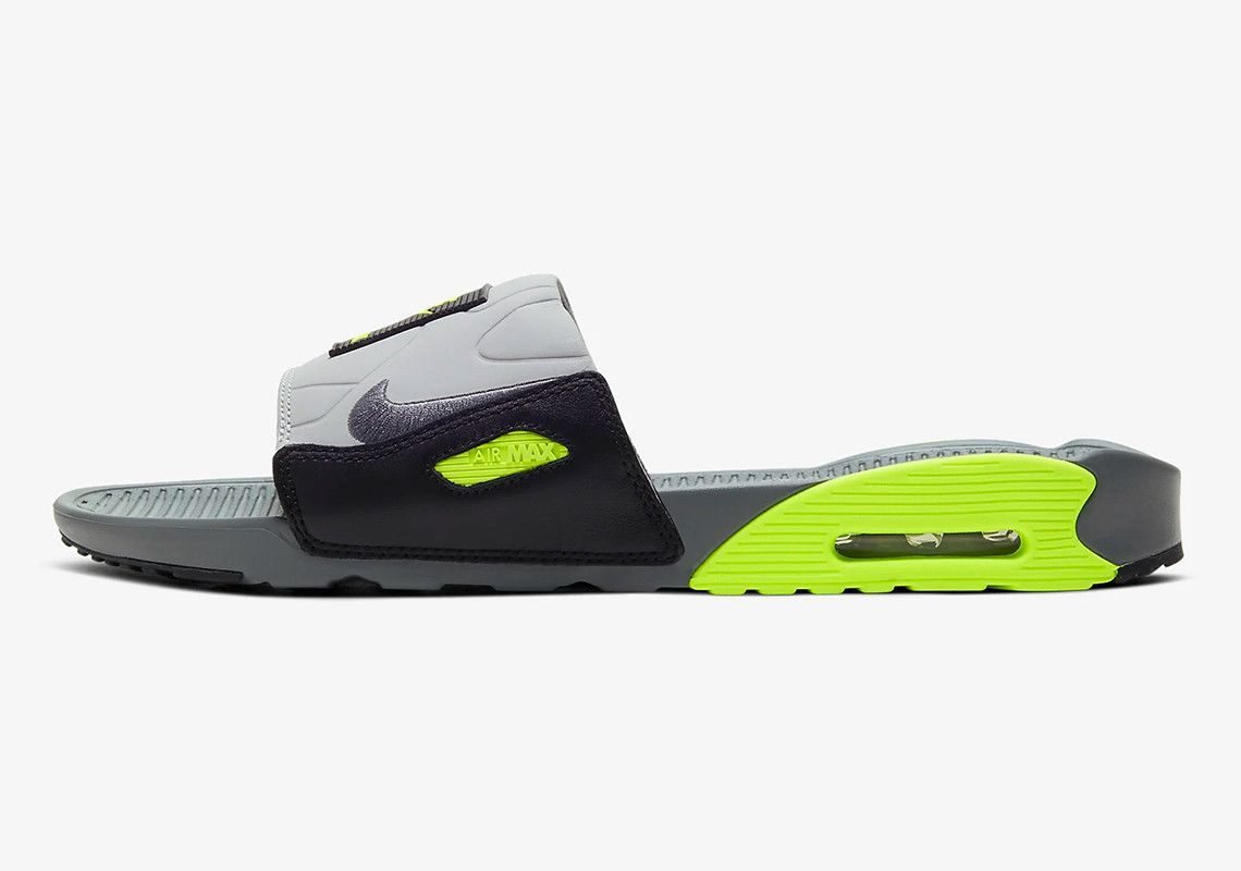 Nike Releases An Air Max 90 Slide In Three Colorways