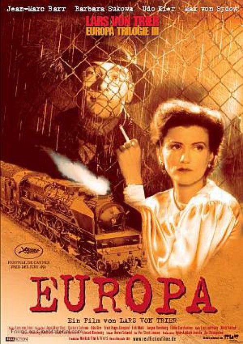 Europa German Movies Lars Von Trier Movie Posters