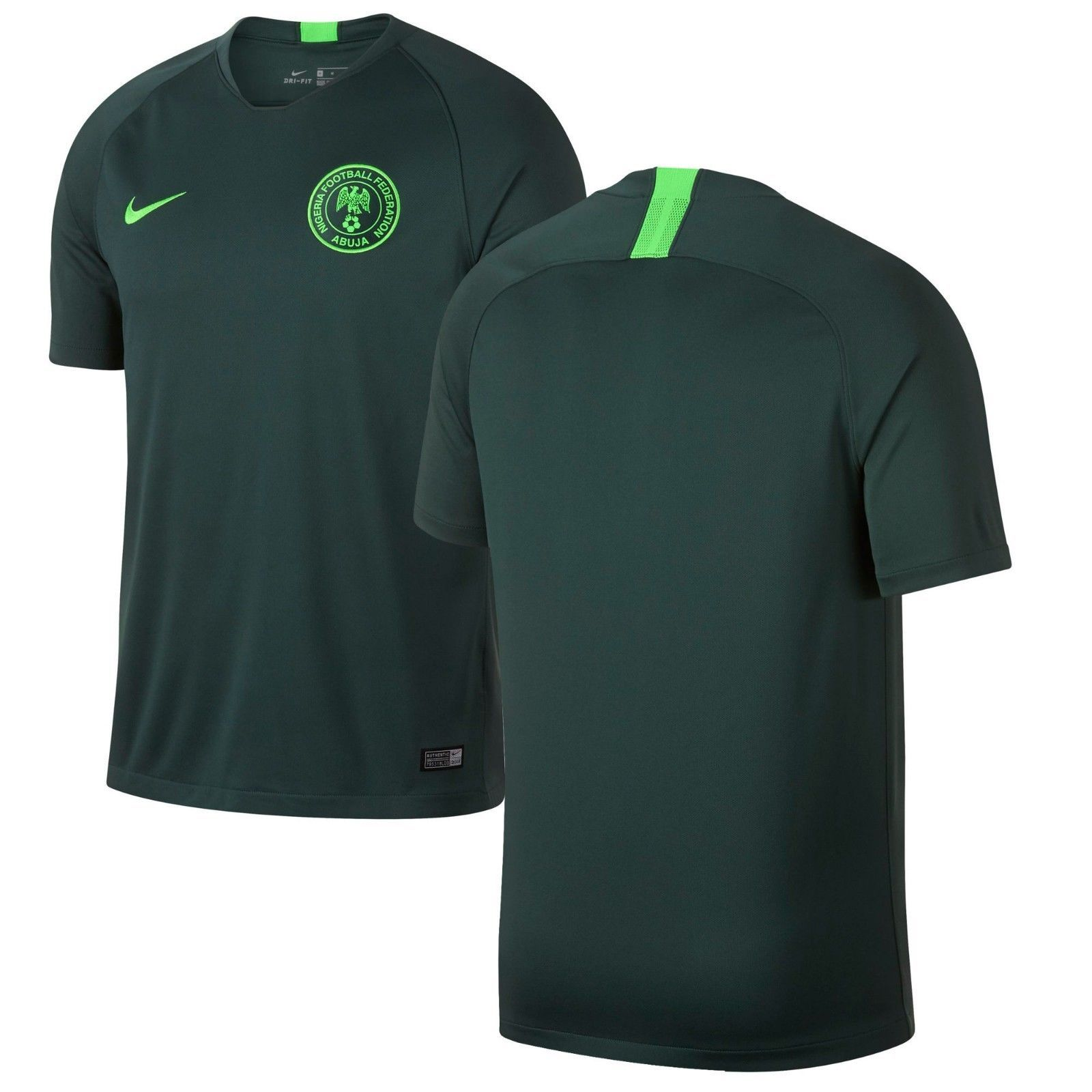 Authentic Limited Nike 2018 World Cup Nigeria National Team Stadium Away  Jersey Discount Price 198.98 Free 0f884a9b0