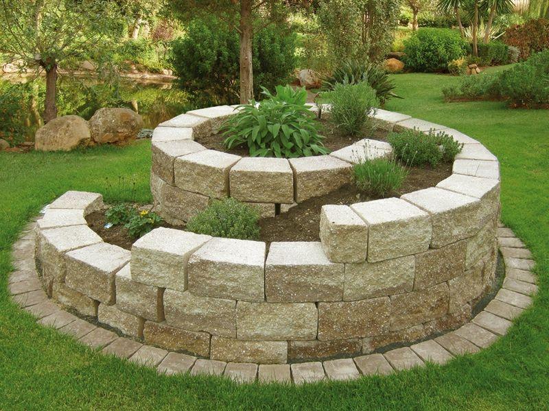 Kräuterschnecke bauen \u2013 Ideen und praktische Tipps Gardens - garten selbst gestalten tipps