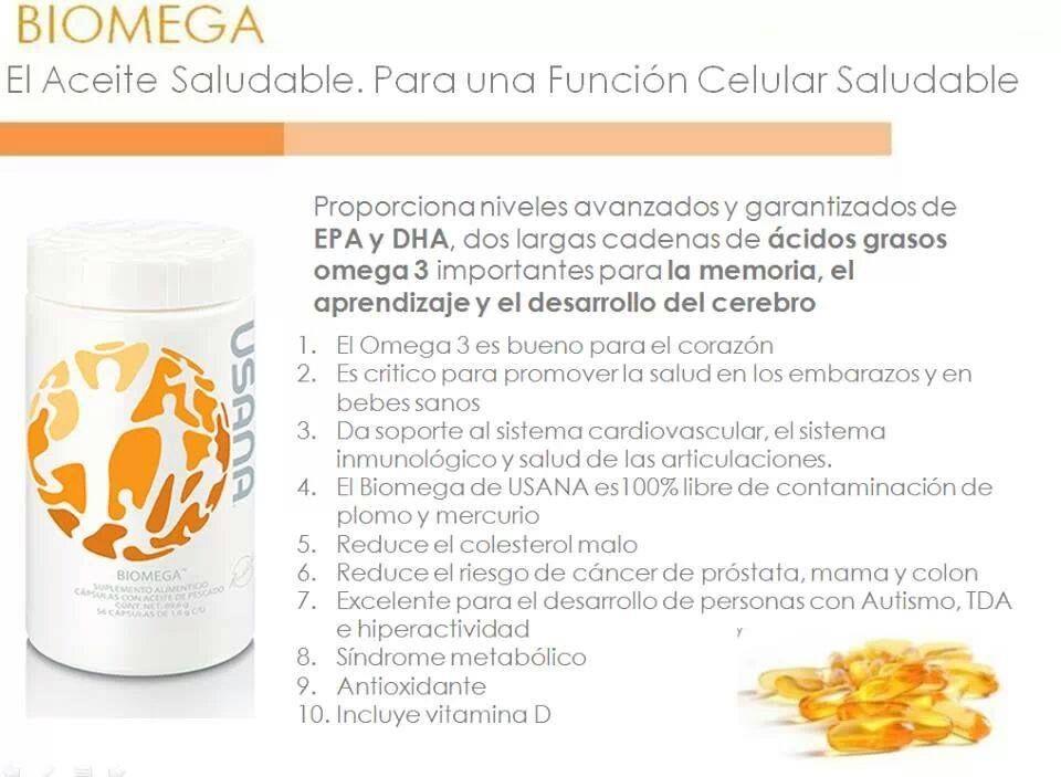 EL ACEITE SALUDABLE Productos para la salud, Biomega