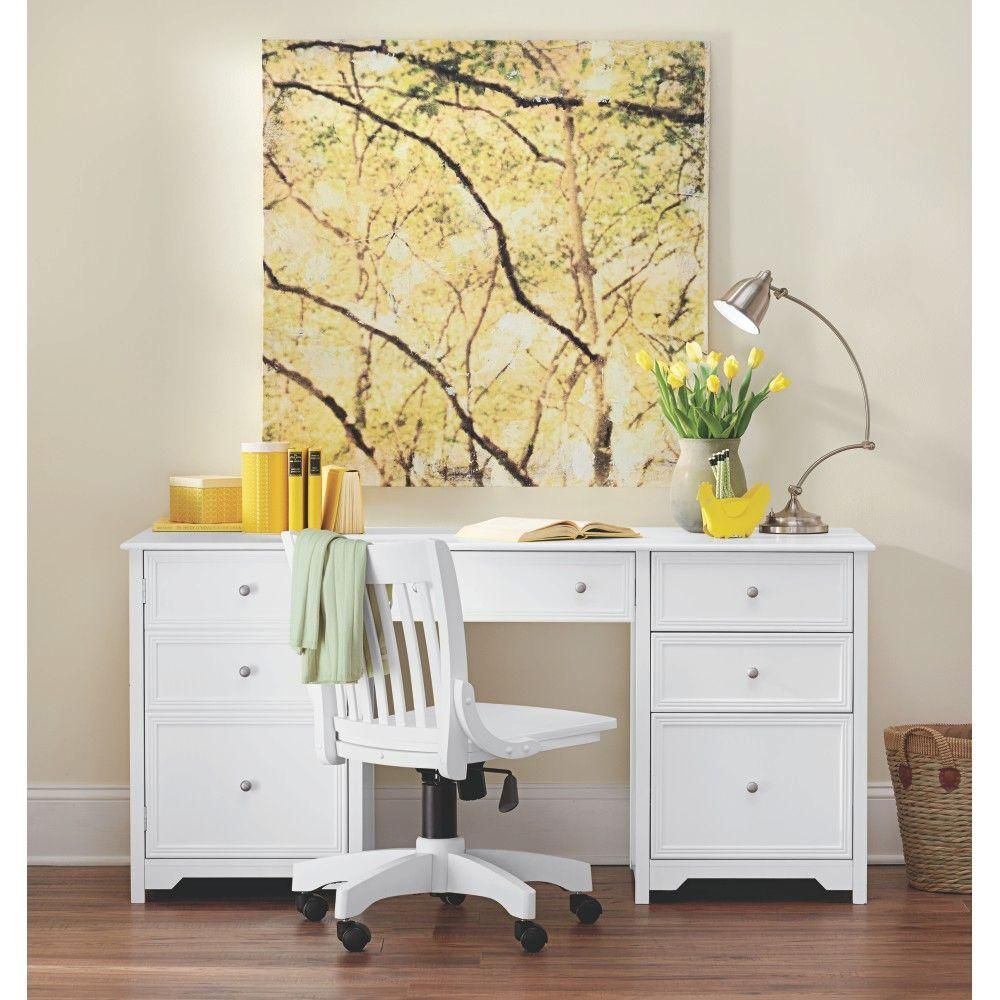 Home Decorators Collection Oxford White Adjustable Office