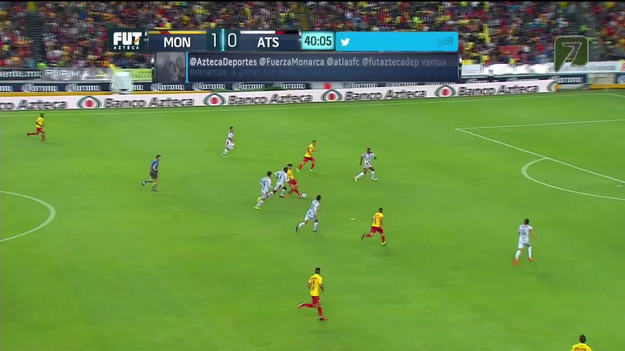 Chato Rodriguez gol vs. Atlas [20] • /r/soccer Soccer