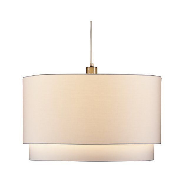 Meryl Double Drum Pendant Light Reviews Crate And