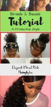Elegant Mixed Kids Hairstyles Image  Baby