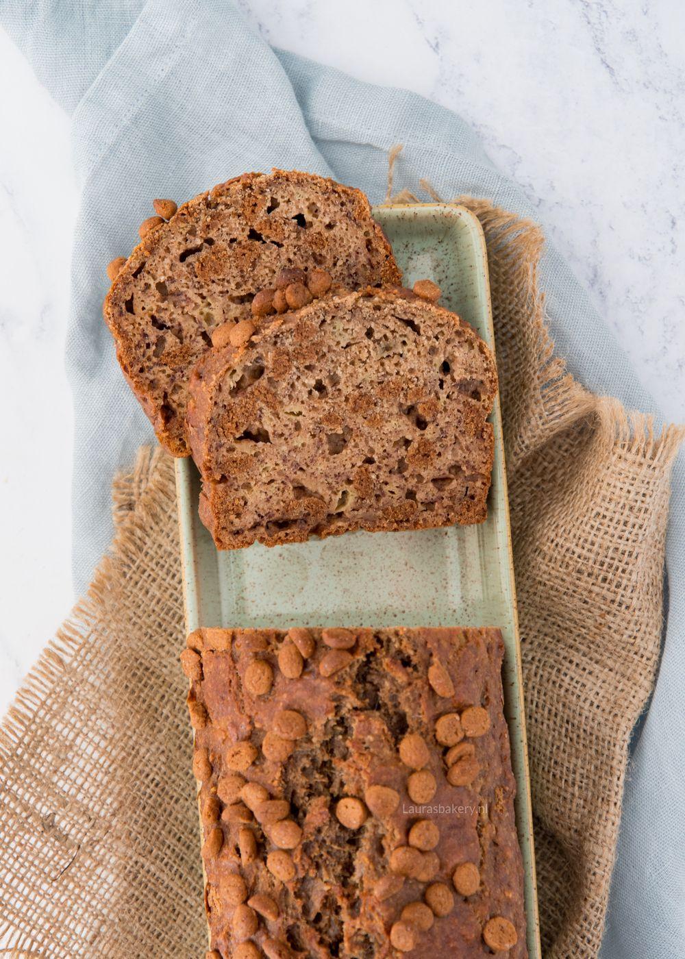 Speculaas Bananenbrood Recept Bananenbrood Speculaas Voedsel Ideeen