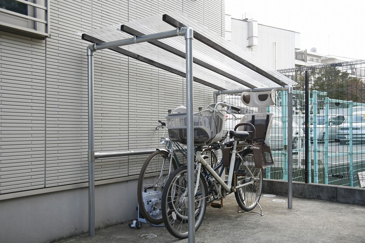 置き場 自作 自転車