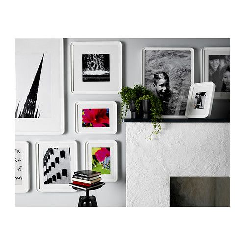 dby cadre 50x50 cm ikea cuisines pinterest decoration cadre photo blanc et ikea. Black Bedroom Furniture Sets. Home Design Ideas