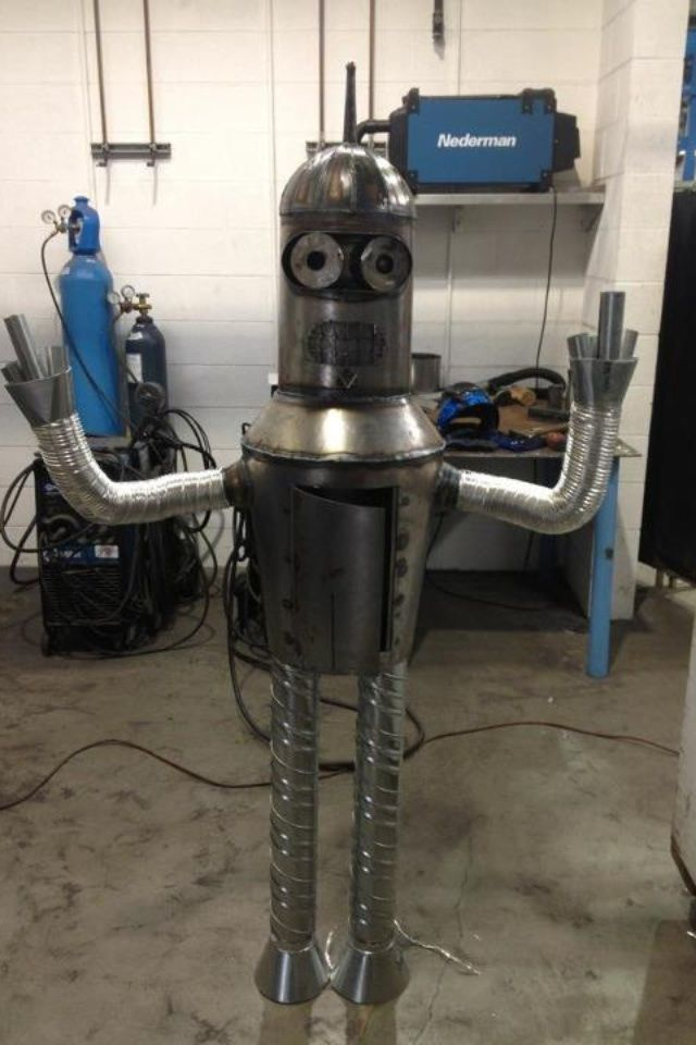 My Buddy Works At A Sheet Metal Warehouse This Is What He S Been Doing With His Free Time Sheet Metal Bender Metal Bender Metal Shop