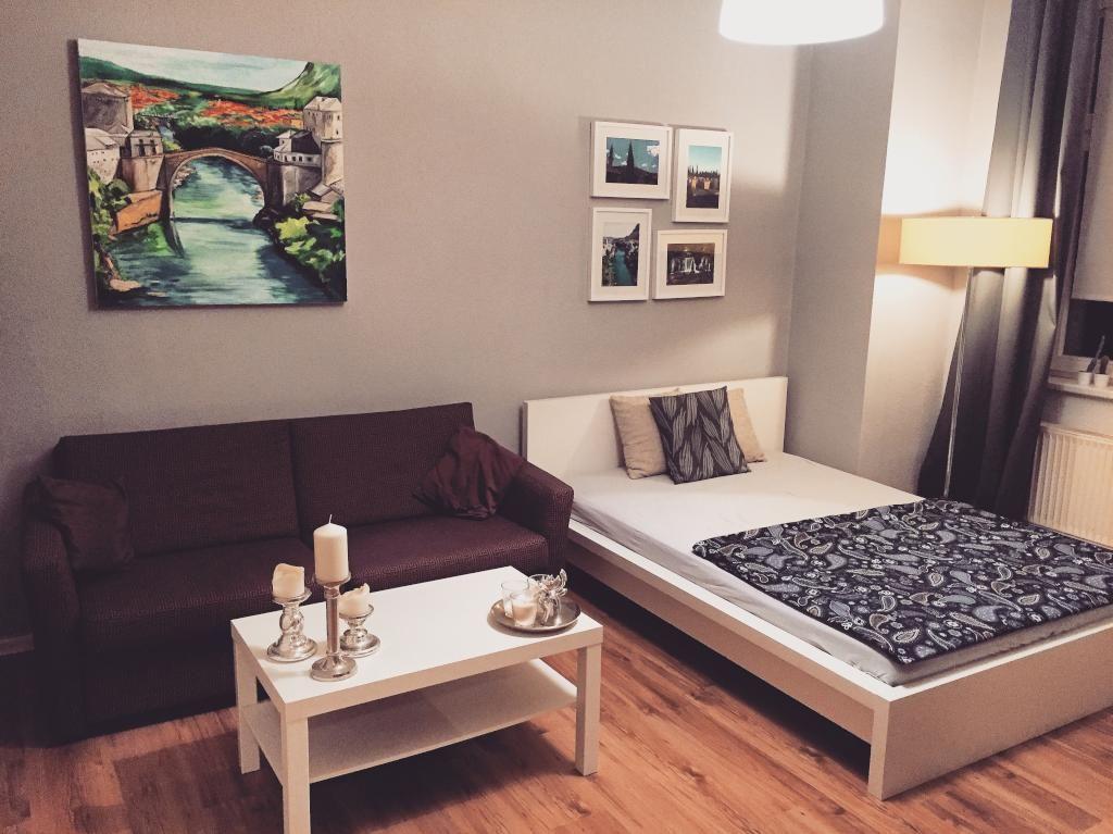 Schöne Träume in einem gemütlichen Wohn- und Schlafzimmer. #WGZimmer ...
