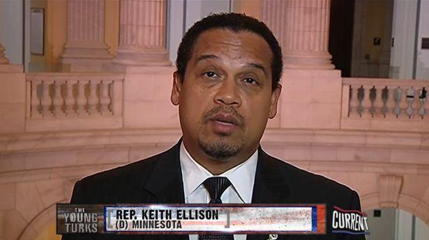 Rep Keith Ellison D Mn Screenshot Via Current Politics