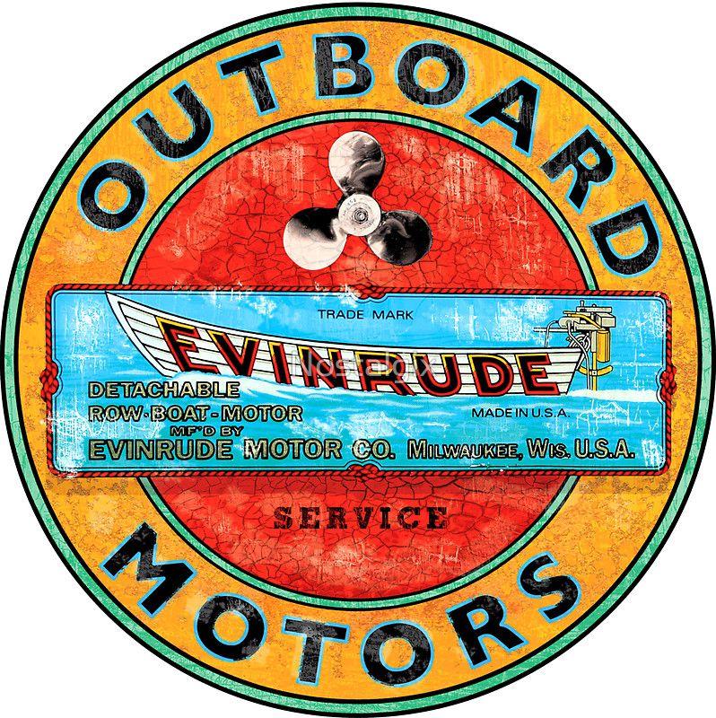 Vintage Evinrude Outboard Motor Outboard Motors Outboard Vintage Boats