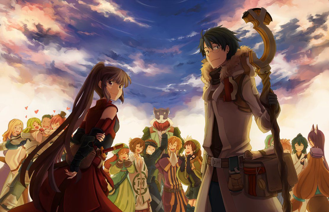 Top 20 Isekai Animes Animes from Another world ログホライズン
