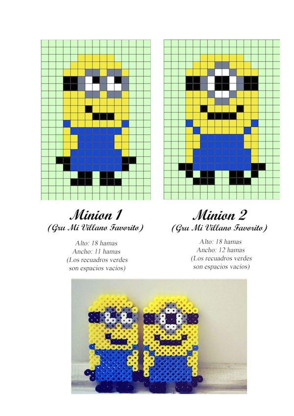 Hama beads, 23 patrones para descargar gratis | Pinterest ...