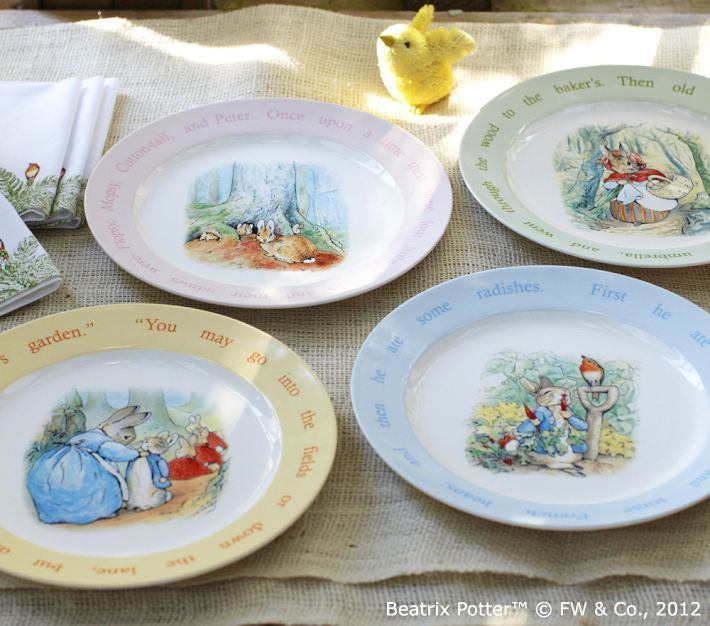 Pottery Barn Kids Love These Plates For Easter Pottery