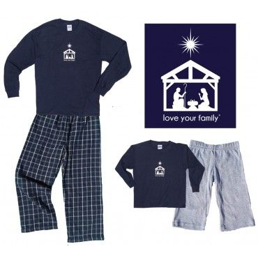 8e2d790461 family christian pajamas Matching Family Pajamas