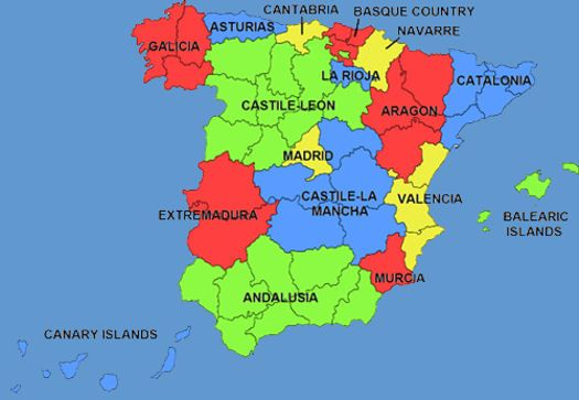 Map Of Spain Lanzarote.Spain Map 879 Spanish Empire Pinterest Spain Spanish And