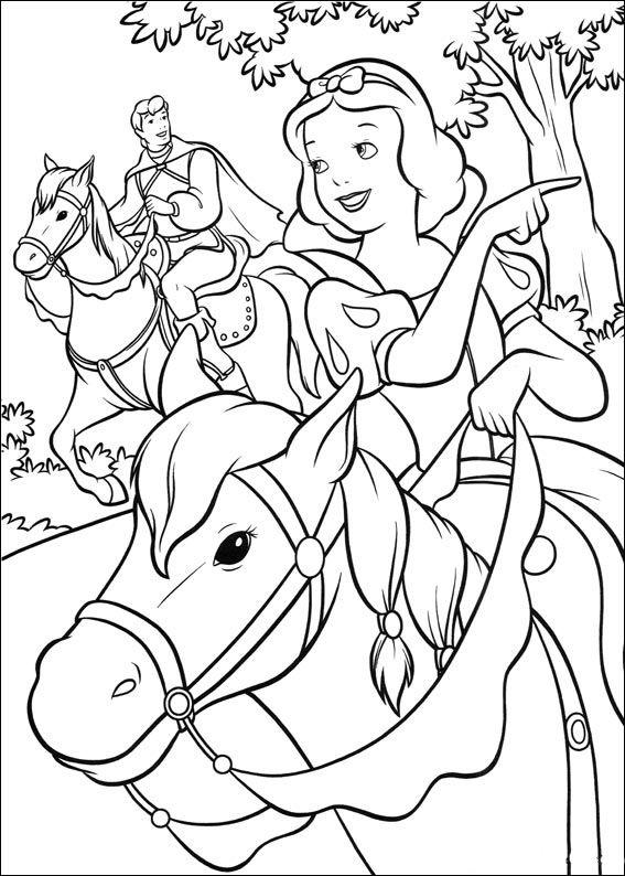 Dibujos Para Colorear Blancanieves Y Los Siete Enanitos 5 Dibujos