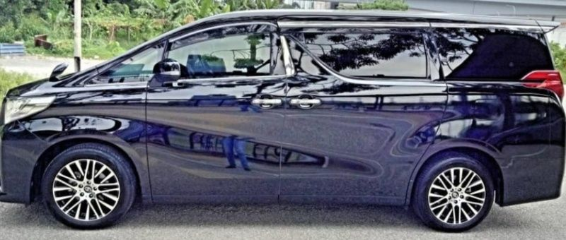 Kajang Selangor For Sale Toyota Alphard 2 5 At Luxury Mpv Sambung