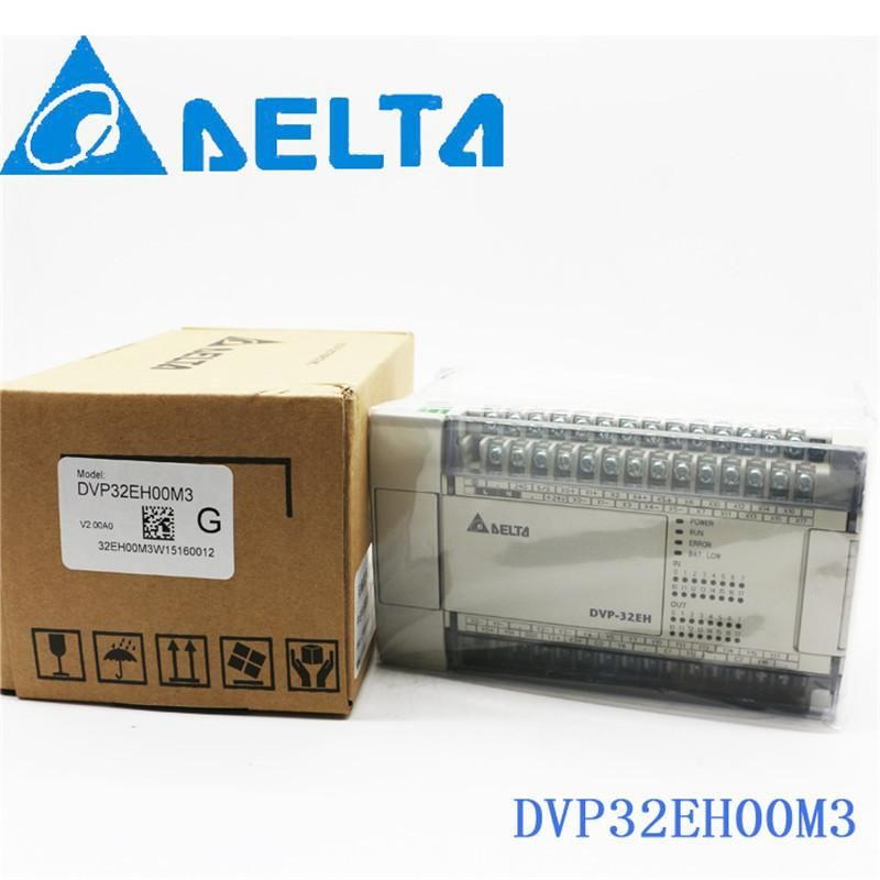 [Visit to Buy] DVP32EH00M3 Delta EH2/EH3 Series PLC DI 16 DO 16 Differential 100-240VAC new in box #Advertisement