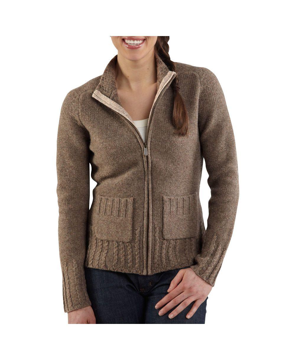 Zip Up Sweaters Womens