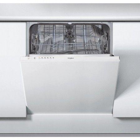 Whirlpool 60cm Integrated Standard Dishwasher White Wie2b19e
