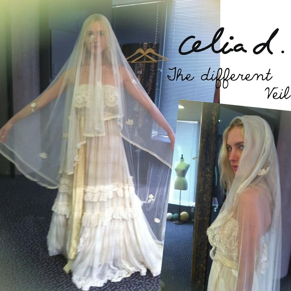 Just Diffe Style Veil By Celia Dragouni