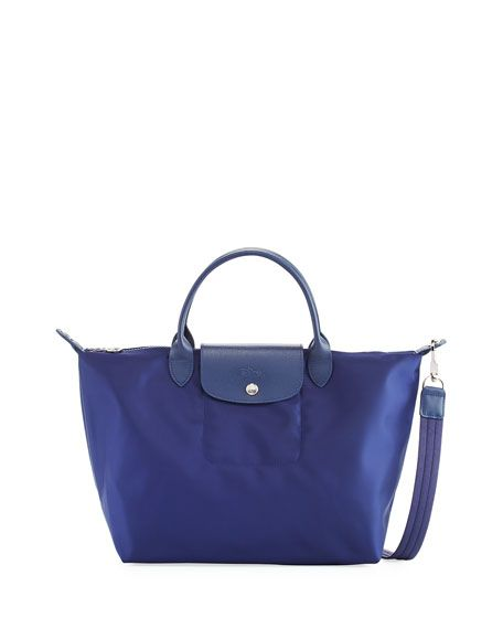 b64a2926d5d8 LONGCHAMP Le Pliage Neo Medium Handbag With Strap