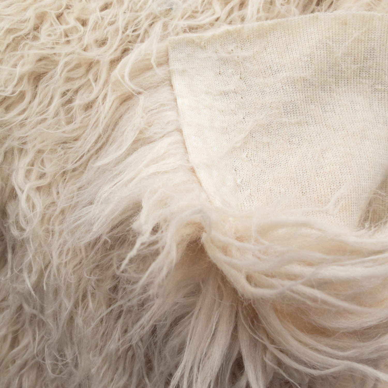 Amazon.com: Fake Faux Fur Curly Alpaca Latte 58 Inch Wide