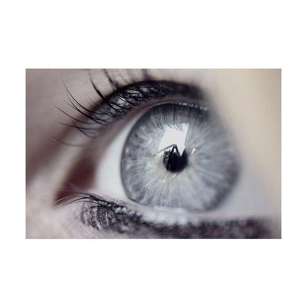Hazel eyes vs Grey eyes ❤ liked on Polyvore featuring