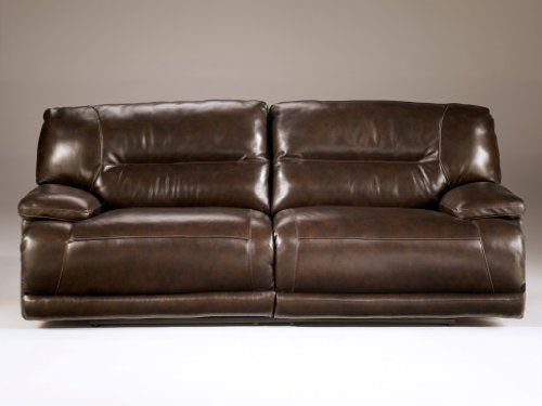 Signature Design By Ashley 4240181 Exhilaration Collection Reclining Sofa Chocolate Manual You Leather Reclining Sofa Reclining Sofa Ashley Furniture Sofas
