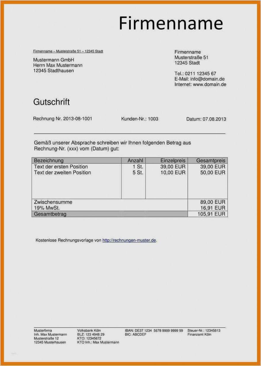 Kostenlose Rechnungsvorlage Fur Word Pages Likvi