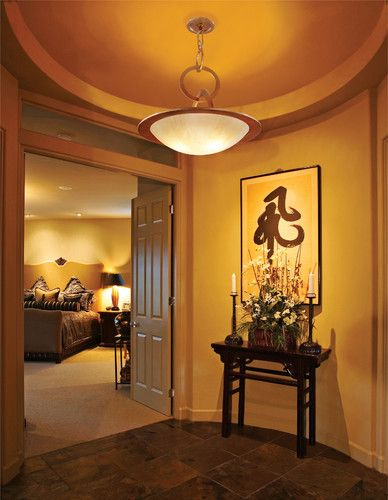 Hallway To Bedroom Double Doors And 2nd Master Bedroom Entry