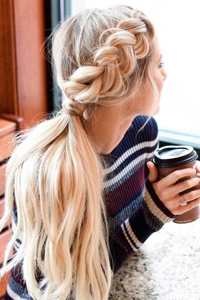 30 Cute Ponytail Hairstyles for you To Try | hairstyles | Pinterest ...