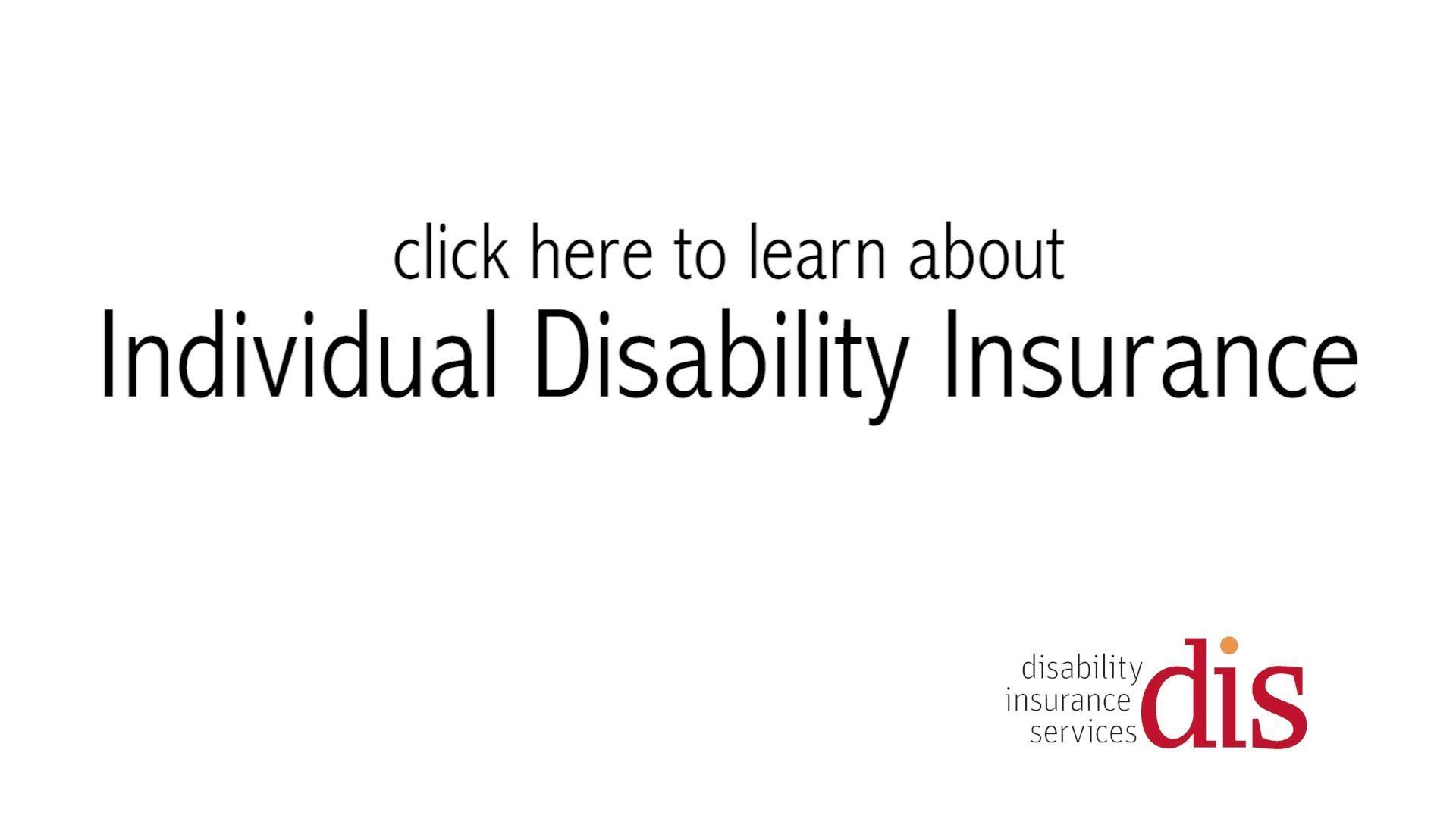 Individual Disability Insurance Disability Insurance Insurance