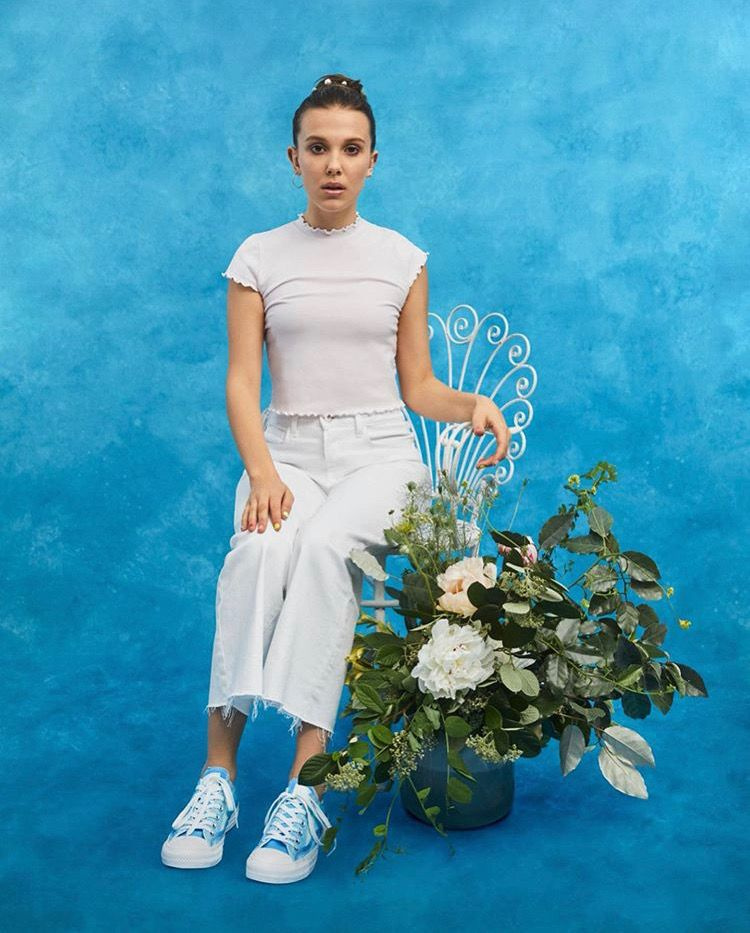 Millie Bobby Brown X Converse Millie Bobby Brown Bobby Brown Bobby Brown Stranger Things