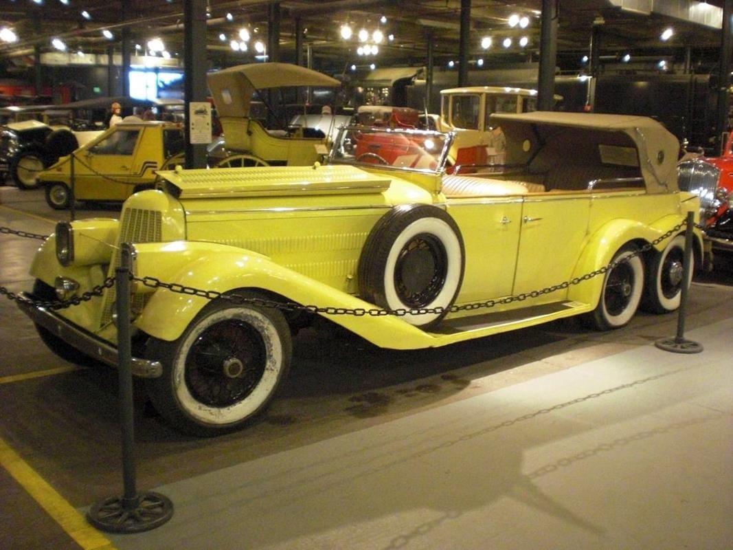 Hispano Suiza H6A de 1923.