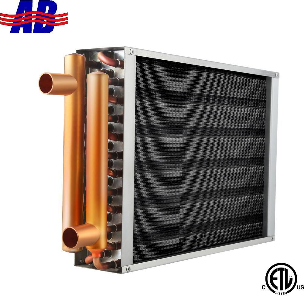 "Air to Water Heat Exchanger 12x12 1"" Copper Ports in 2020"