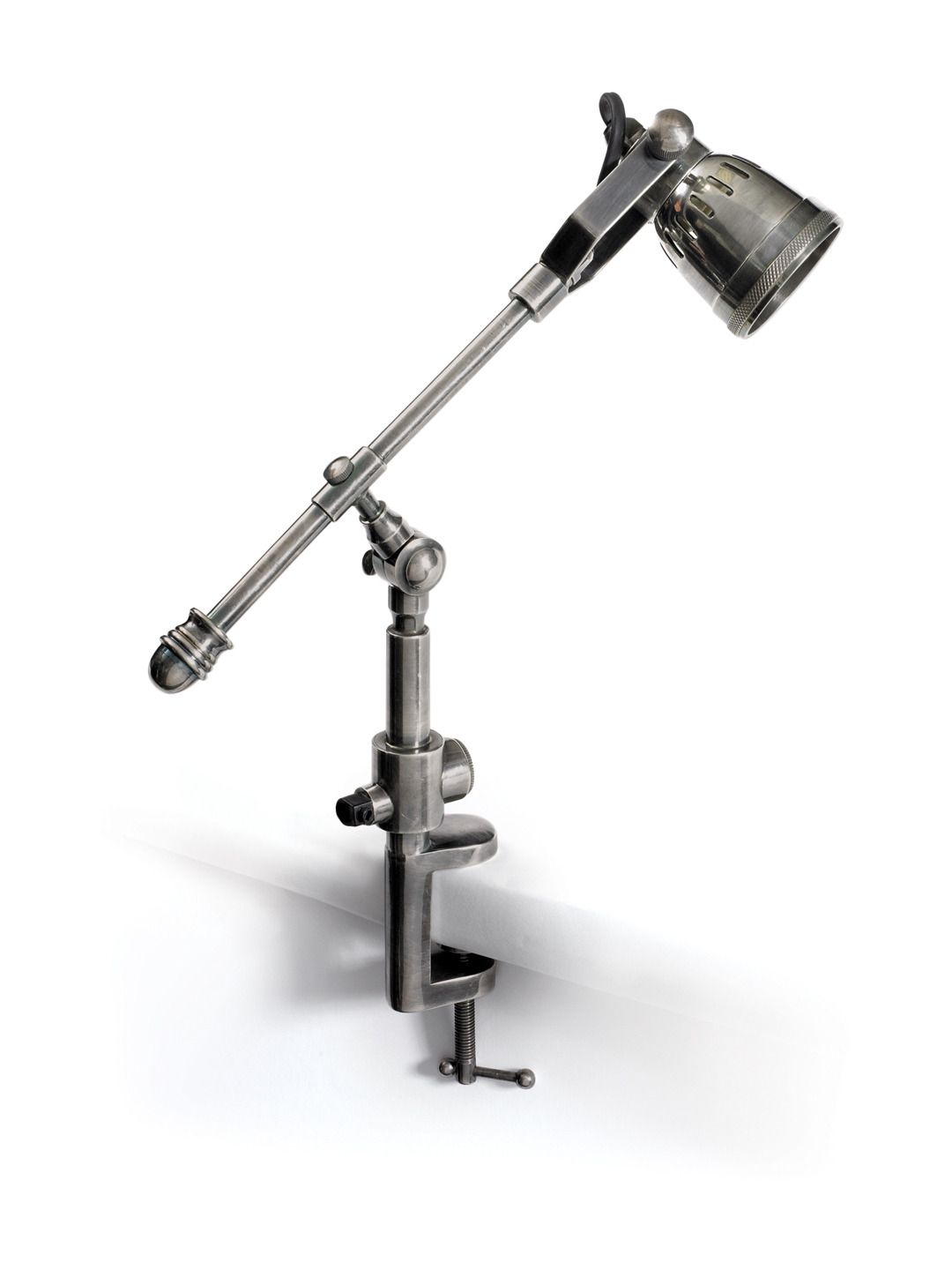 Leighton Drafter Lamp from Modern-Industrial Lighting on Gilt