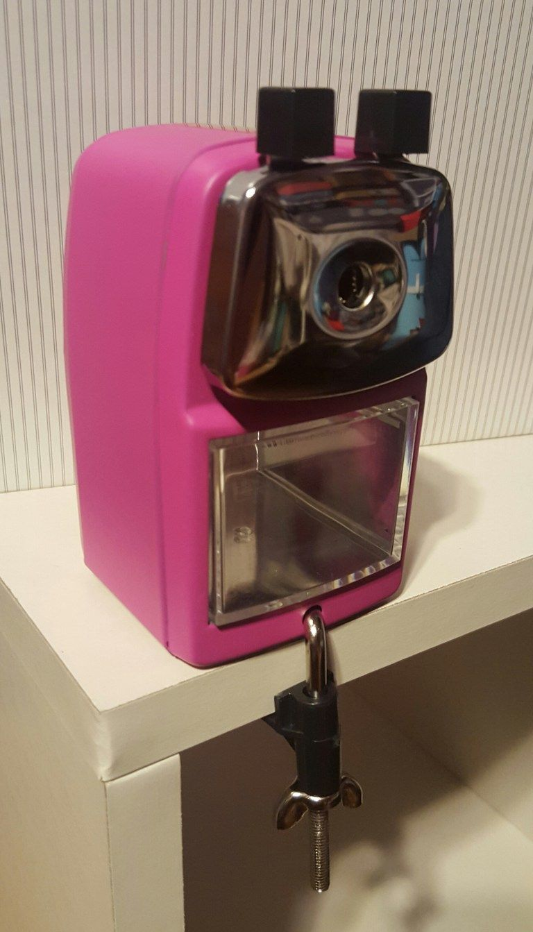Classroom friendly supplies pencil sharpener with images