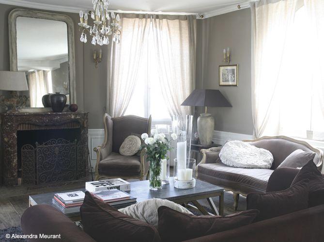 salon #baroque #cheminee #lustre | interiors | Pinterest | Salons ...