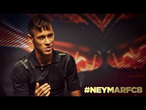 FC Barcelona - Presentación de Neymar en Barcelona