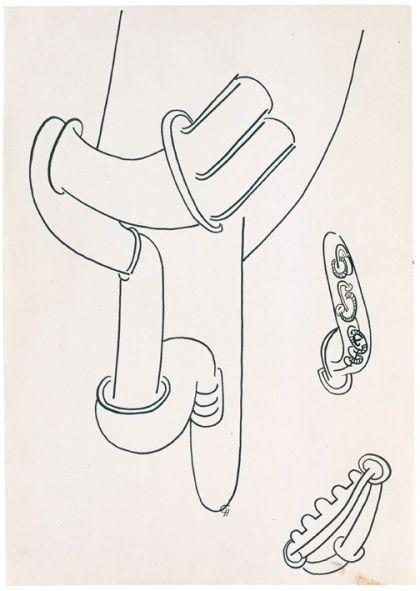 Hauser and Wirth, Eva Hesse, No title, 1965 4