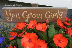 garden signs are a must in a cottage garden, container gardening, crafts, flowers, gardening, Then there s the fun signs to display right in with the flowers