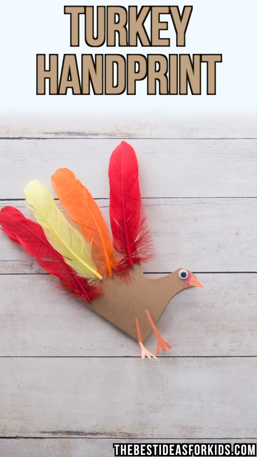 Turkey Handprint Craft With Poem - The Best Ideas for Kids