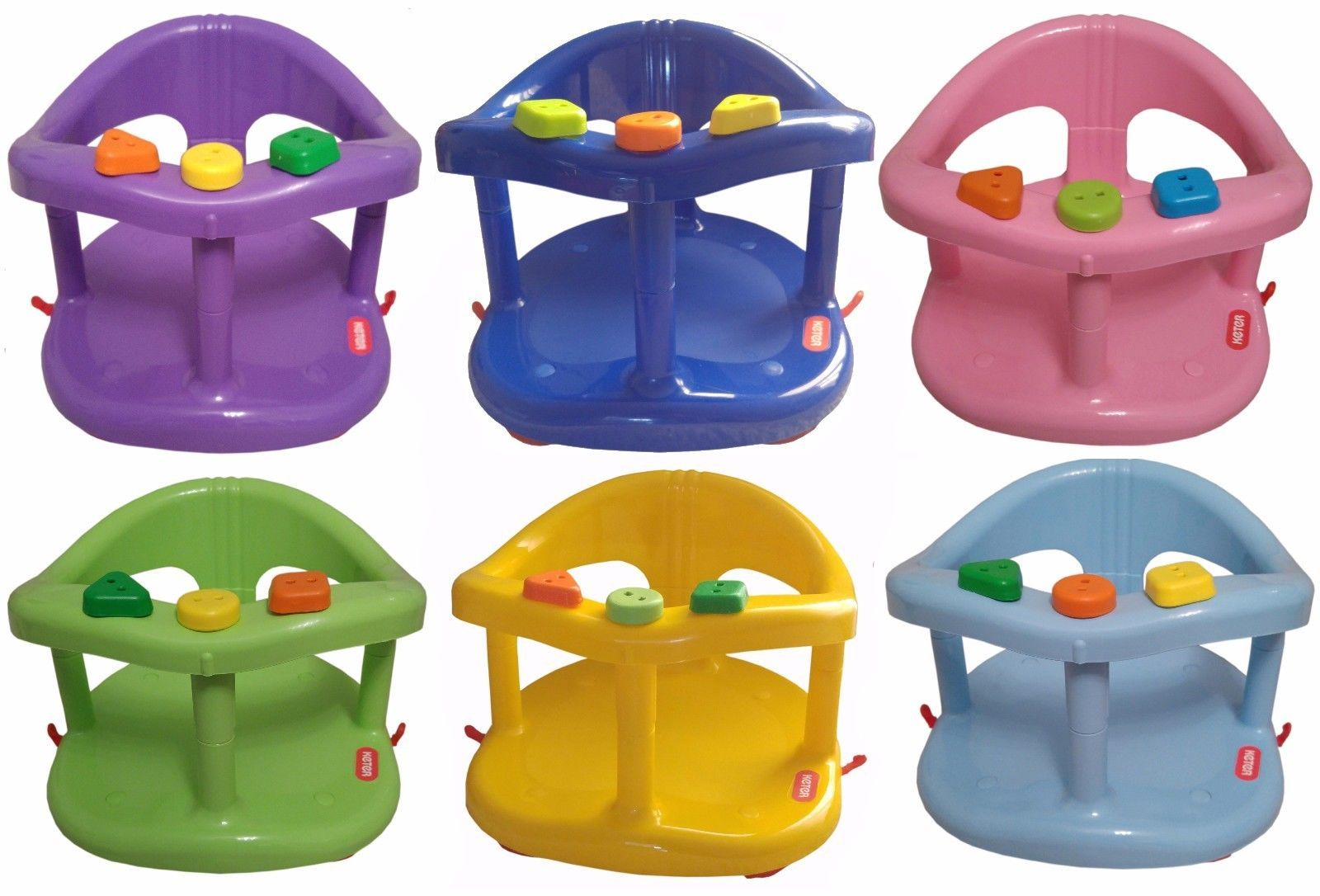 Genuine Keter Infant Baby Bath Tub Ring Safety Seat Anti Slip Chair ...