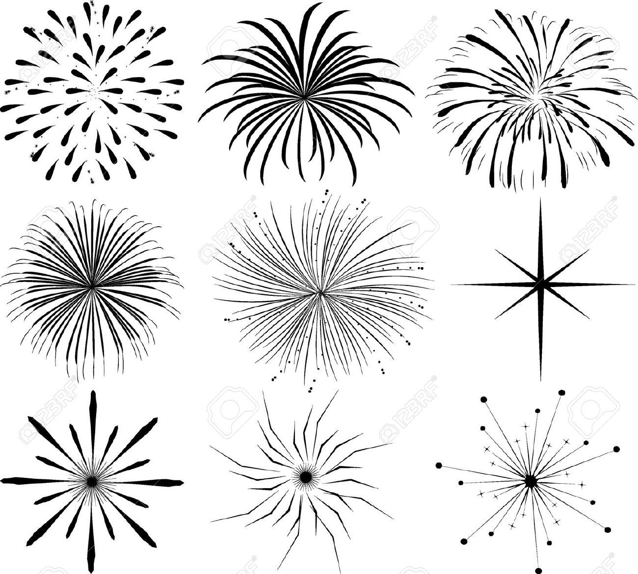 Clip art fireworks google search