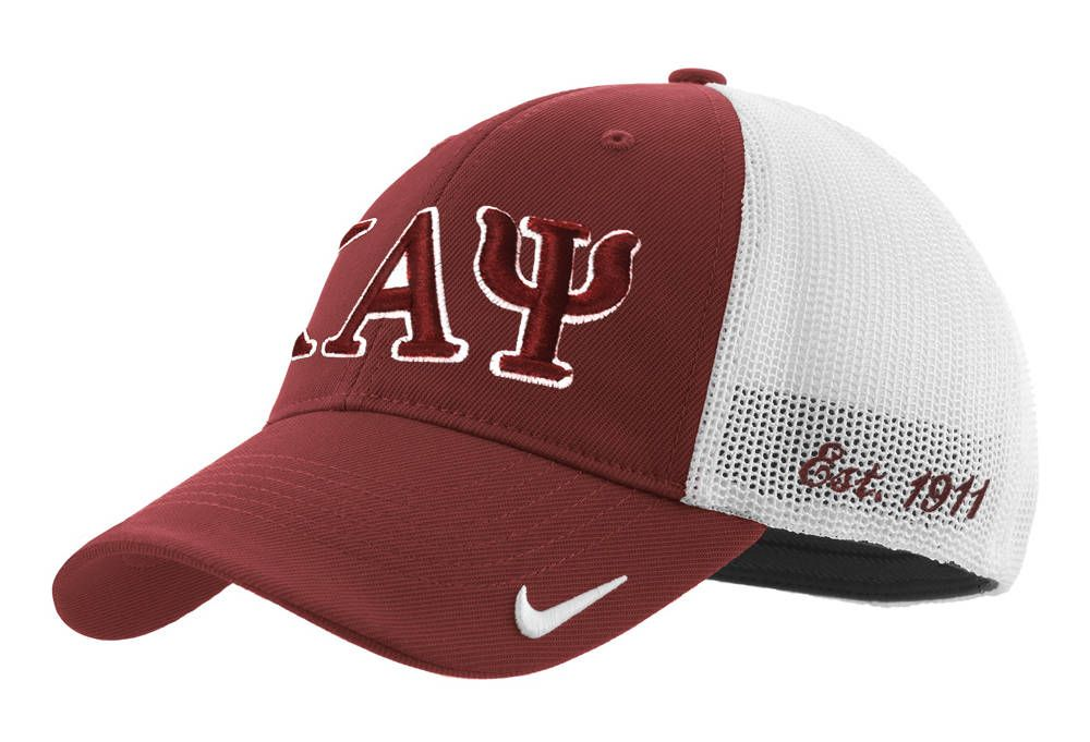 9a7c1ad729c This new Kappa Alpha Psi Greek Letter Flexfit Cap by NIKE is available in  three sizes
